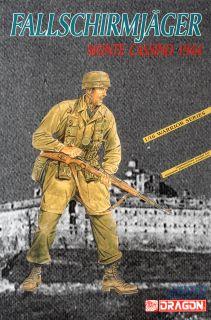 WW.II ドイツ軍降下猟兵 モンテカッシーノの戦い1944年 (プラモデル ...