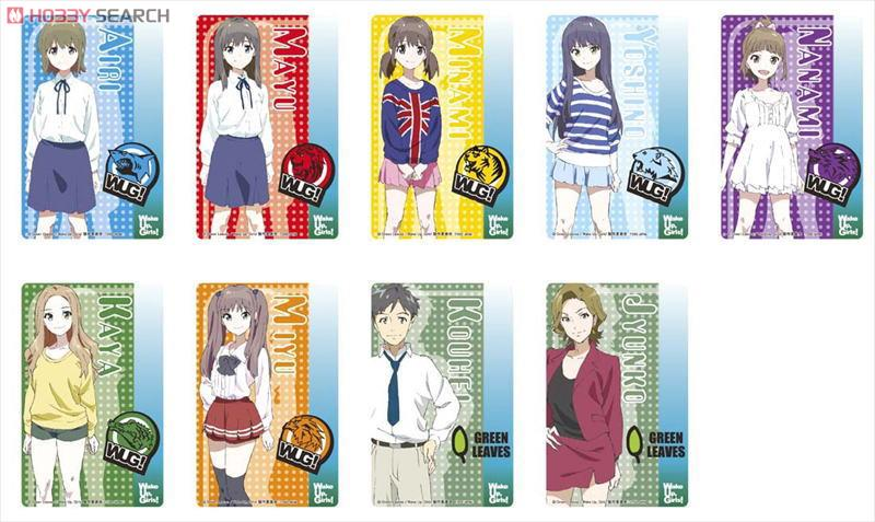 Wake Up Girls Pvc Sticker 12 Pieces Anime Toy Item Picture1