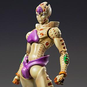 Super Figure Action [JoJo`s Bizarre Adventure] Part V 64.Gold Experience Requiem (Coloring Directed by Araki Hirohiko) (PVC Figure)