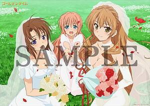 Golden Time A3 Clear Poster Anime Toy