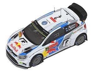 VW POLO R WRC 2014年Sweden Rally 優勝 #2 (ミニカー)