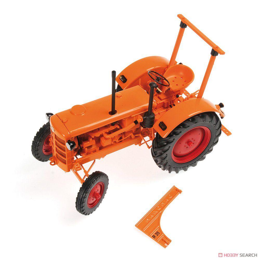 ハノマグ R28 農業用トラクター 1953 オレンジ (ミニカー)