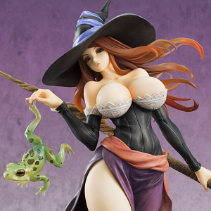 OrchidSeed Dragon/'s Crown Sorceress 1//7 Complete Figure JP