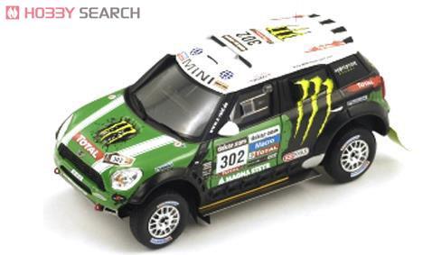 ミニ カントリーマン All4 レーシング #302 2012 ダカールラリー ウィナー (ミニカー)