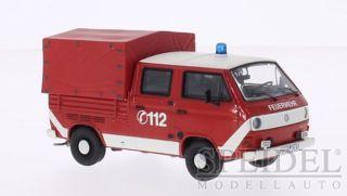 Volkswagen VW T3b Feuerwehr Fire Brigade  1:43 Premium ClassiXXs NEU