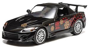 Fast Furious The Fast And The Furious 2001 2002 Honda S2000 Black Hobbysearch Diecast Car Store