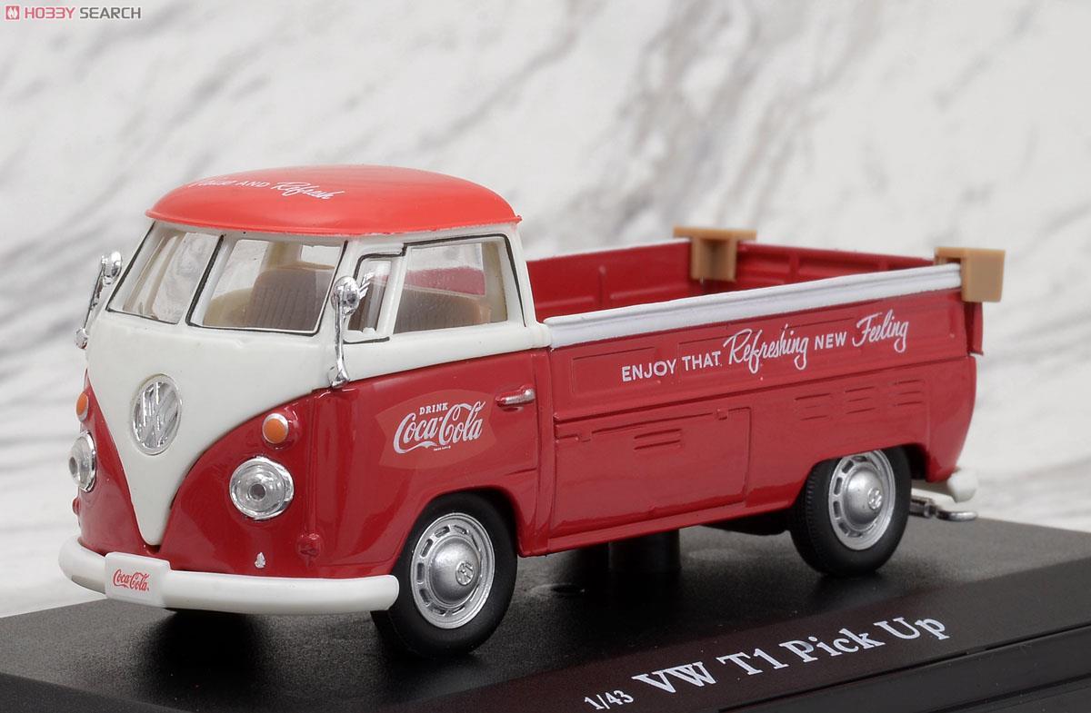 1962 VW ピックアップ (レッド) (ミニカー)