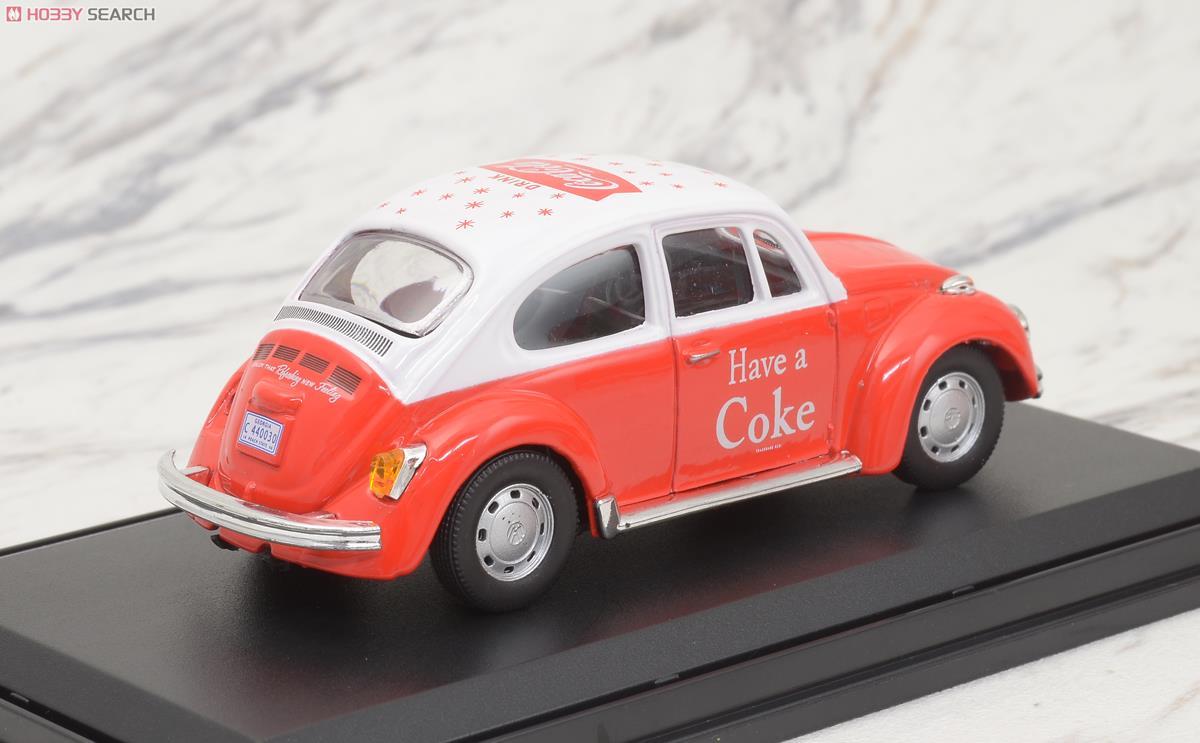 1966 VW ビートル (レッド) (ミニカー)
