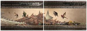Monster Hunter Monster Size Chart Clear Sheet Ver.2 (Anime Toy)