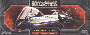 Battle Star Galactica Colonial One (Plastic model)