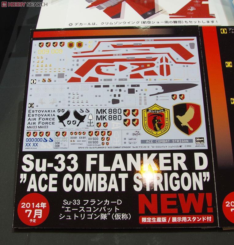 Su-33 フランカーD `エースコンバット シュトリゴン隊`