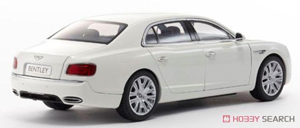 ベントレー フライングスパー W12 (Glacier White) (ミニカー)