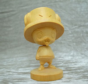 One Piece Wooden Chopper Part.2 (Hinoki) (PVC Figure)