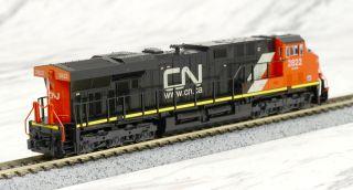 GE ES44AC CN (Canadian National) (Red/Black/White #2822