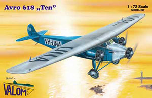 Avro 618 `Ten` (Plastic model)