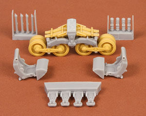 40/43M Zrinyi Assault Gun Suspension Set for Bronco kit (Plastic model)