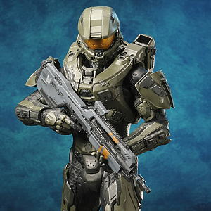 Artfx Master Chief Halo 4 Edition Completed