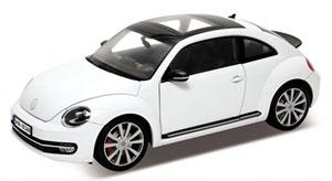 VW THE ビートル 2012 (ホワイト) (ミニカー)