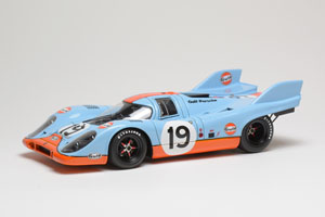 ポルシェ 917K `Gulf Racing - John Wyer Automotive` 24h Le Mans 1971 2nd No.19 (ミニカー)
