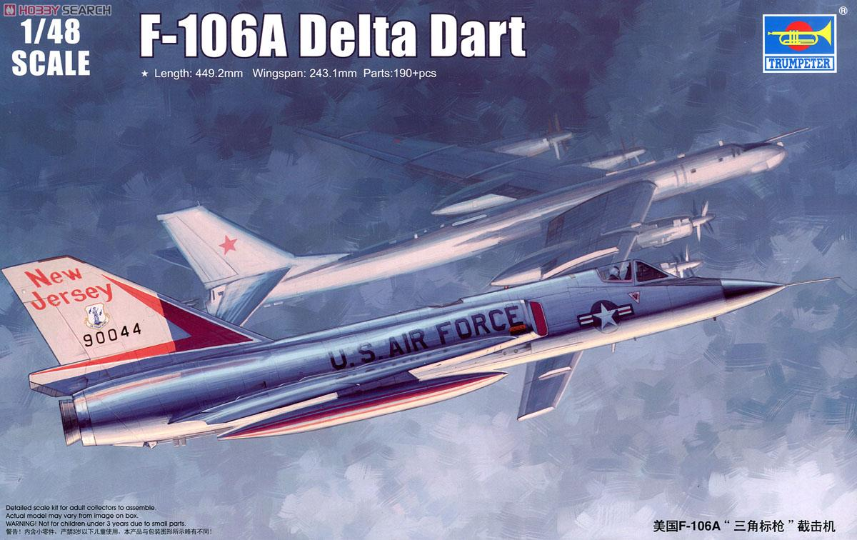 Delta (CO) United States  city images : United States Air Force F 106A Delta Dart Plastic model Images List