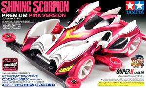 Shining Scorpion Premium Pink Version (Super II Chassis) (Mini 4WD)