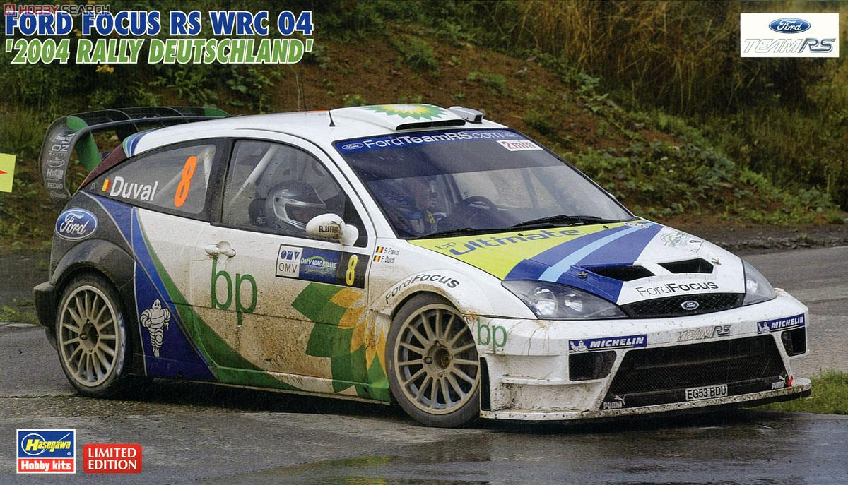 Ford Focus Mk I Rs Wrc04 Racing Cars
