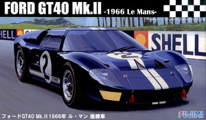 Ford GT40 Mk-II `66 LeMans Winner (Model Car)