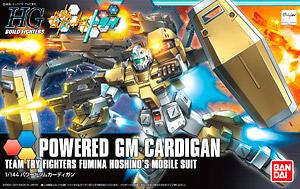 Powered Gm Cardigan Hgbf Gundam Model Kits Hobbysearch Gundam