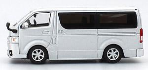トヨタ ハイエース スーパーGL 2014 (シルバー) (ミニカー)