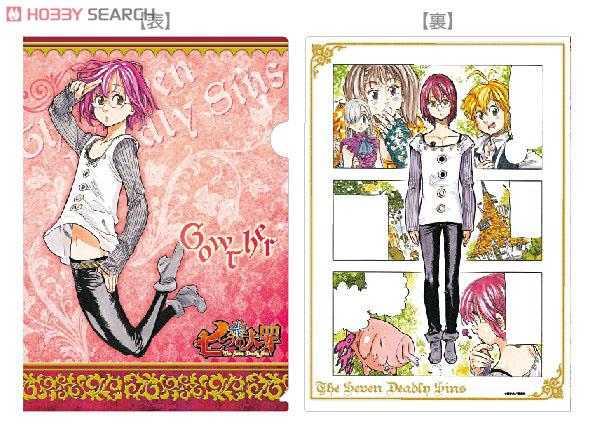 the seven deadly sins original a4 clear file folder ban gowther