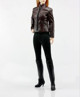 1//6 Scale Female Causal Leather Set by Pop ToysPOP-F11-A