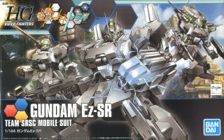 FROM JAPAN HGBF 1//144 Gundam Build Fighters Try Ez-SR Foxhound Plastic Mode...