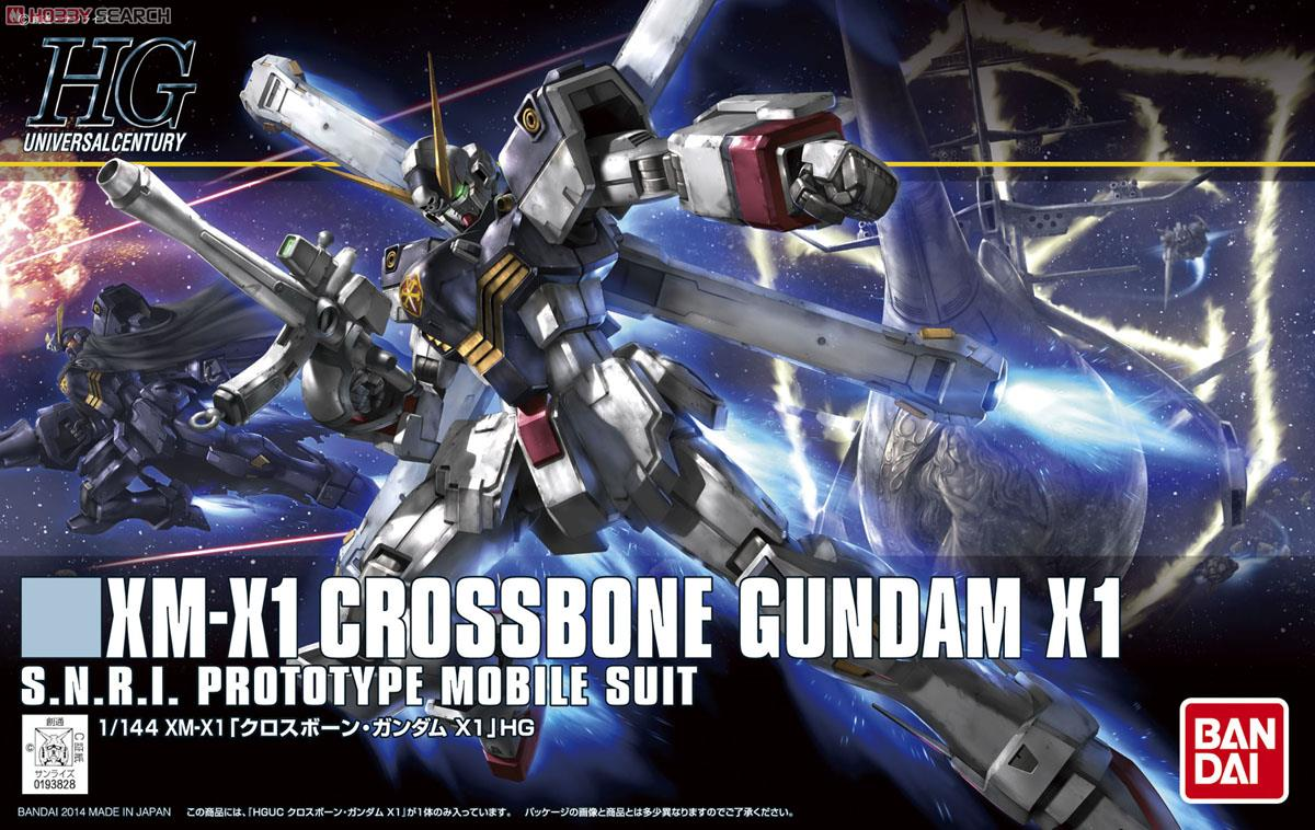 [close] Cross Bone Gundam X1 (HGUC) (Gundam Model Kits) Package1