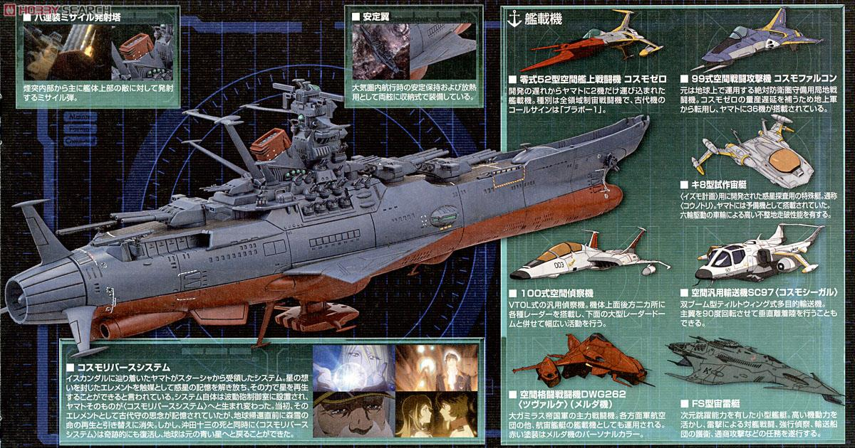 Space Battleship Yamato 2199 Cosmo reverse Ver From Japan