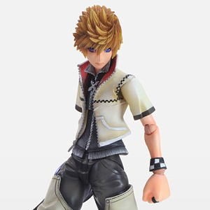 Kingdom Hearts II Play Arts Kai Roxas (PVC Figure)