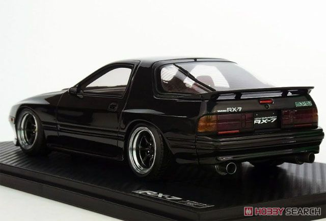 Mazda Savanna RX-7 (FC3S) Black 2 (1/18 Scale) (ミニカー)