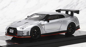 NISSAN GT-R NISMO N Attack Package (ブリリアントシルバー) (ミニカー)