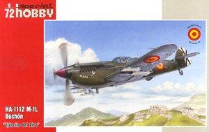 イスパノ HA 1112 M-1L ブチョン 「スペイン空軍」 (プラモデル)