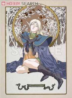 Character Sleeve Record of Lodoss War (Deedlit/Deedlit/pirotess/karla) 4 pieces (Card Sleeve) Item picture1