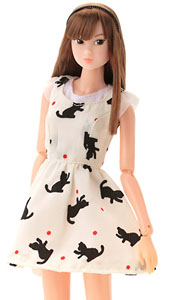 Momoko Doll Dance with the Cat Clean Ver. (Fashion Doll)