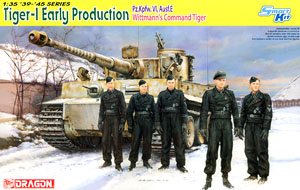 WWII German Tiger I Early Production `Michael Wittmann` (Plastic model)