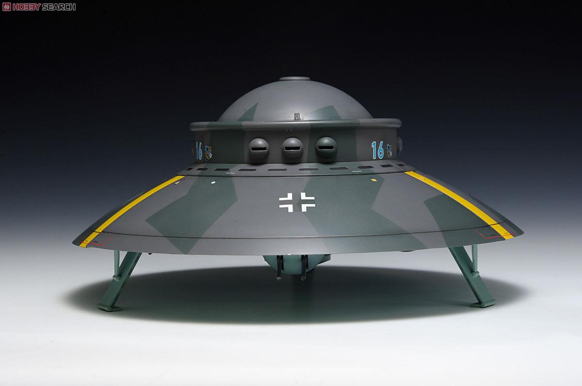 [close] 1/72 scale Flying Saucer - Haunebu Type (Plastic model) Item picture3