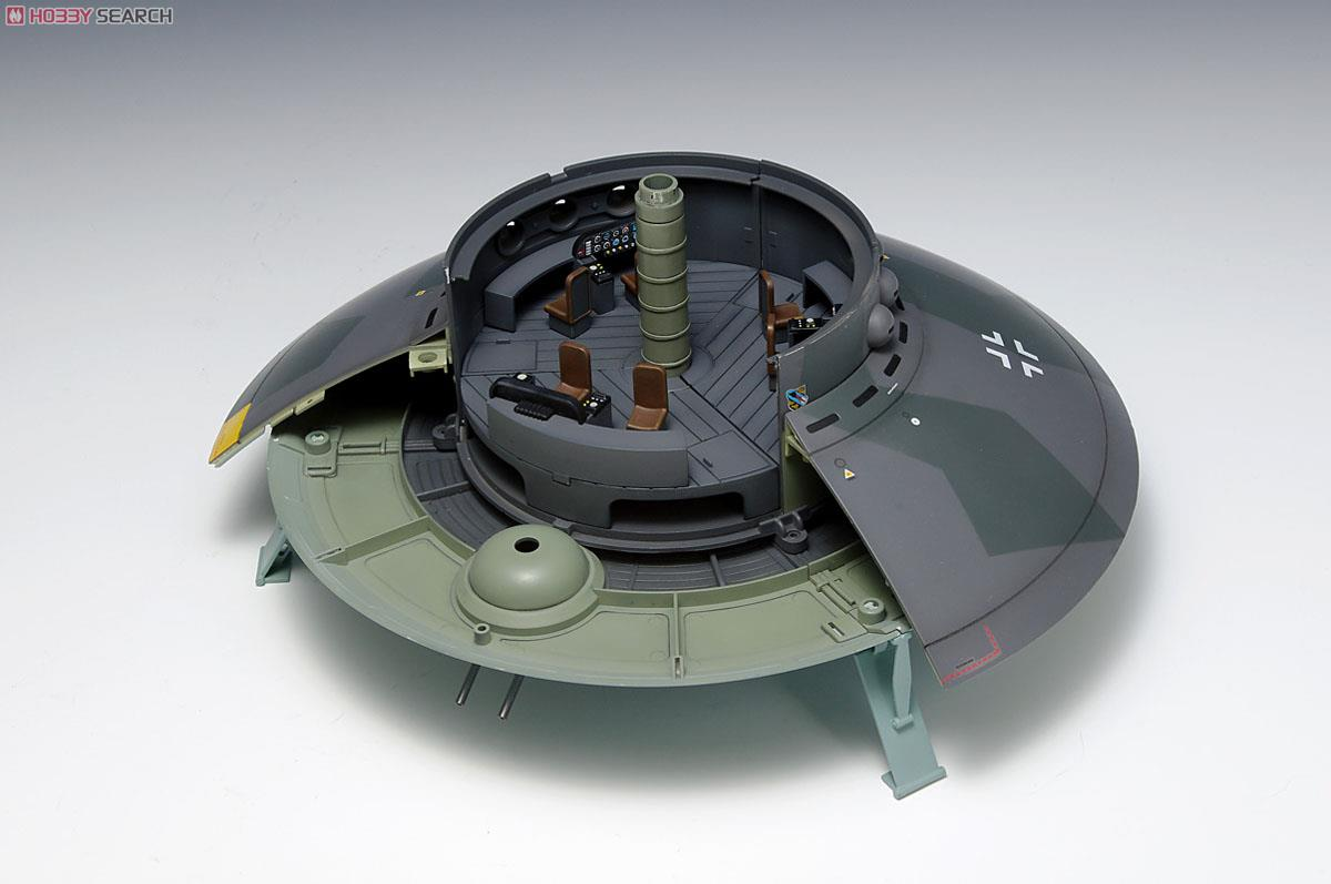 [close] 1/72 scale Flying Saucer - Haunebu Type (Plastic model) Item picture4