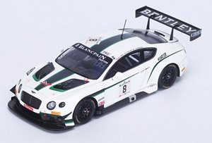 Bentley Continental GT3 n.8 24H SPA 2014 A.Leclerc - J.D`Ambrosio - D.Tappy (ミニカー)