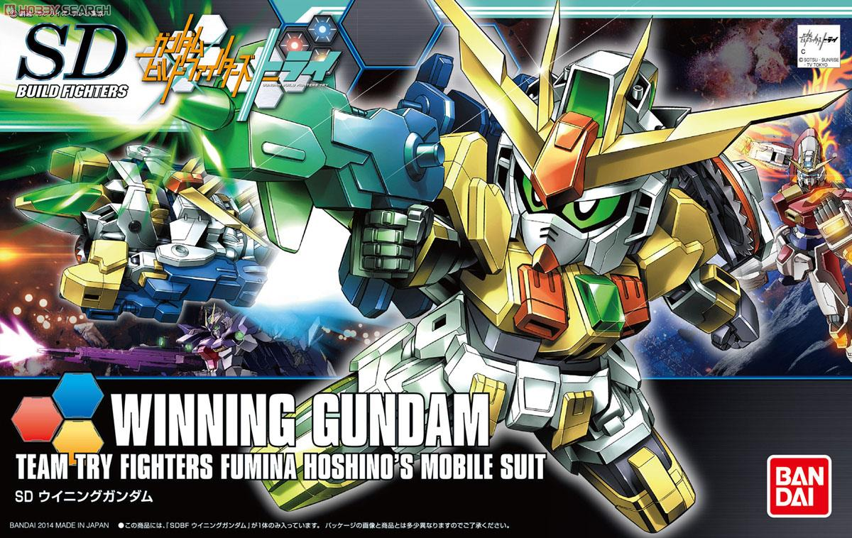 Winning Gundam (SDBF) (Gundam Model Kits) Package1