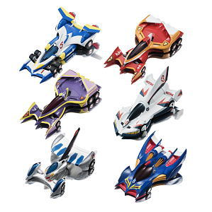 C.F.C. Cyber Formula Collection Vol.3 (OVA Edition) 6 pieces (Completed)