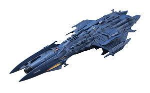 コスモフリートスペシャル 宇宙戦艦ヤマト2199 特一等航宙戦闘艦 デウスーラII世 (完成品)