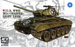 M24軽戦車 チャーフィー 米陸軍 WWII (プラモデル)