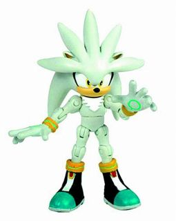Sonic The Hedgehog 20th Anniversary Silver The Hedgehog 6 Inch Action Figure Completed Hobbysearch Anime Robot Sfx Store