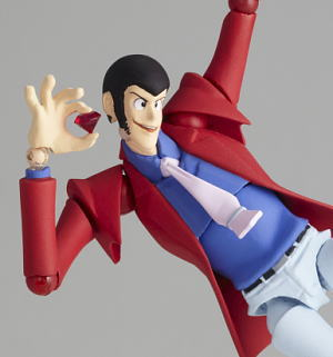 Legacy of Revoltech LR-025 Lupin the Third (PVC Figure)